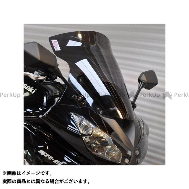 スキッドマークス ER-6f ニンジャ400R ニンジャ650R ウィンドスクリーン ツーリングタイプ カラー:グリーン Skidmarx