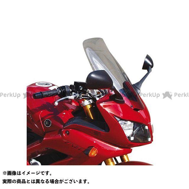 【エントリーで更にP5倍】スキッドマークス FZ1フェザー(FZ-1S) ウィンドスクリーン ツーリングタイプ カラー:ライトブロンズ Skidmarx