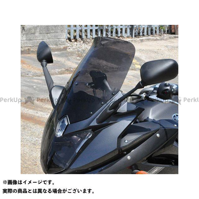 【エントリーで更にP5倍】スキッドマークス XJ6ディバージョン ウィンドスクリーン ツーリングタイプ カラー:ブラック Skidmarx
