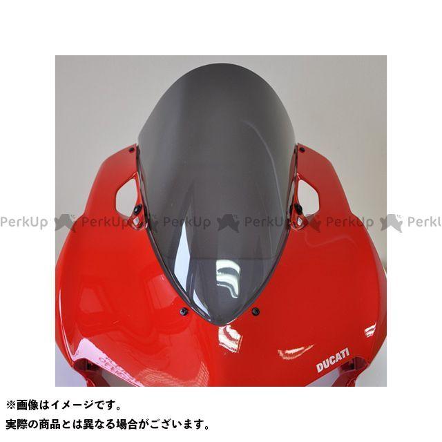 【無料雑誌付き】スキッドマークス 1199パニガーレ 899パニガーレ ウィンドスクリーン ツーリングタイプ カラー:レッド Skidmarx