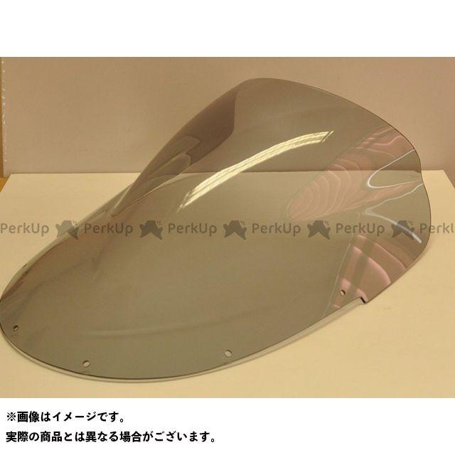 【無料雑誌付き】スキッドマークス ZZR1100 ウィンドスクリーン ダブルバブルタイプ カラー:レッド Skidmarx