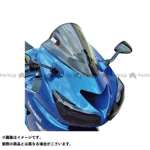 【無料雑誌付き】スキッドマークス ニンジャZX-14R ZZR1400 ウィンドスクリーン ダブルバブルタイプ カラー:ダークブロンズ Skidmarx