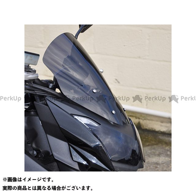 【無料雑誌付き】スキッドマークス Z1000 ウィンドスクリーン ダブルバブルタイプ カラー:ライトブロンズ Skidmarx