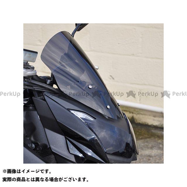 【無料雑誌付き】スキッドマークス Z1000 ウィンドスクリーン ダブルバブルタイプ カラー:ダークグリーン Skidmarx