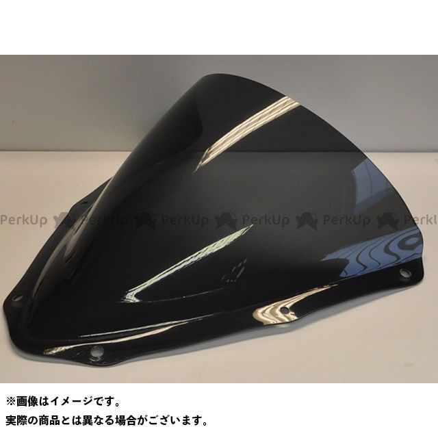 【エントリーで更にP5倍】スキッドマークス GSX-R600 GSX-R750 ウィンドスクリーン ダブルバブルタイプ カラー:ダークスモーク Skidmarx