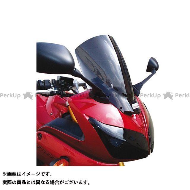 【無料雑誌付き】スキッドマークス FZ1フェザー(FZ-1S) ウィンドスクリーン ダブルバブルタイプ カラー:ブラック Skidmarx