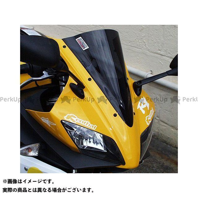 【無料雑誌付き】スキッドマークス YZF-R125 ウィンドスクリーン ダブルバブルタイプ カラー:レッド Skidmarx