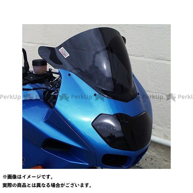 【無料雑誌付き】スキッドマークス K1200Rスポーツ ウィンドスクリーン ダブルバブルタイプ カラー:イエロー Skidmarx