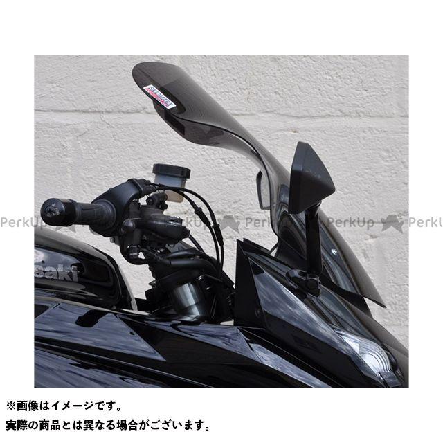 【エントリーで更にP5倍】スキッドマークス ニンジャ1000・Z1000SX ウィンドスクリーン ツーリングタイプ カラー:レッド Skidmarx
