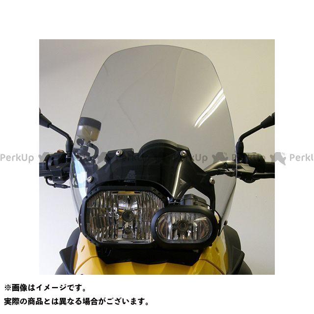 【無料雑誌付き】スキッドマークス F650GS F800GS ウィンドスクリーン ツーリングタイプ カラー:クリア Skidmarx