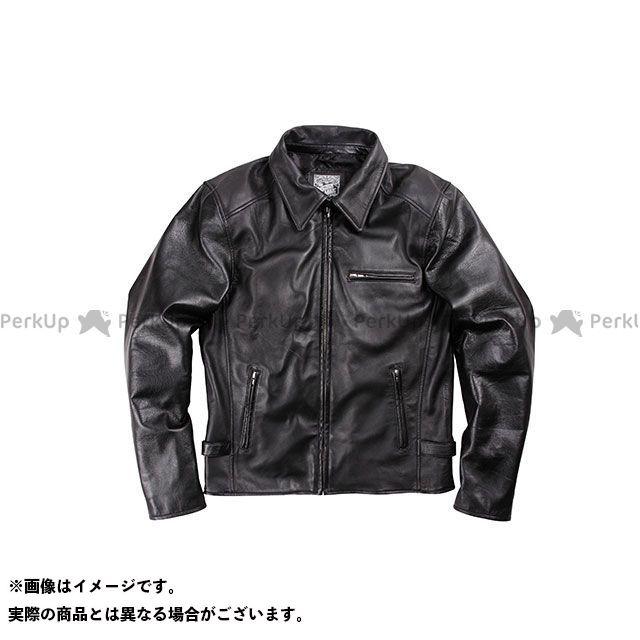 送料無料 DEGNER デグナー ジャケット 2017春夏モデル 17SJ-1 レザージャケット ブラック XL