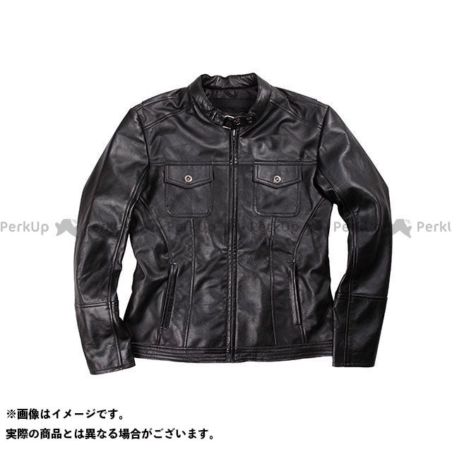 DEGNER FR17SJ-4 レディースレザージャケット カラー:ブラック サイズ:レディースL デグナー