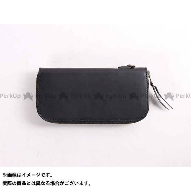 メーカー在庫あり DEGNER デグナー W-92 レザージップウォレット ブラック