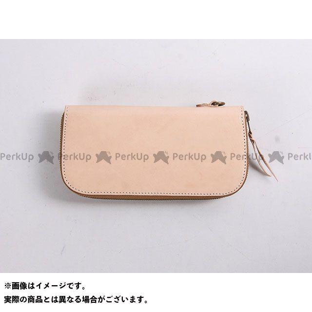 送料無料 DEGNER デグナー 財布 W-92 レザージップウォレット タン