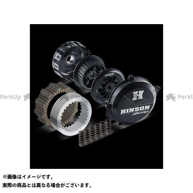 ヒンソン RM-Z450 コンプリート ビレットプルーフ コンベンショナル クラッチキット Suzuki RM-Z450 2008-2014 HINSON