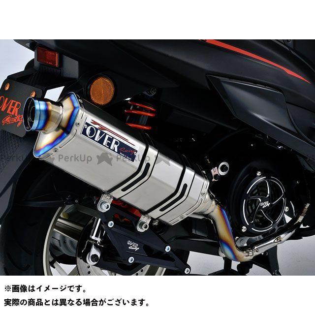 【エントリーで最大P23倍】オーバーレーシング シグナスX SR TT-Formula フルチタン マフラー OVER RACING