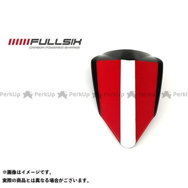 フルシックス 1199パニガーレ 1199 シングルシート(パッドなし) レッド コーティング:クリアコート カーボン繊維の種類:245Twill 綾織り FULLSIX