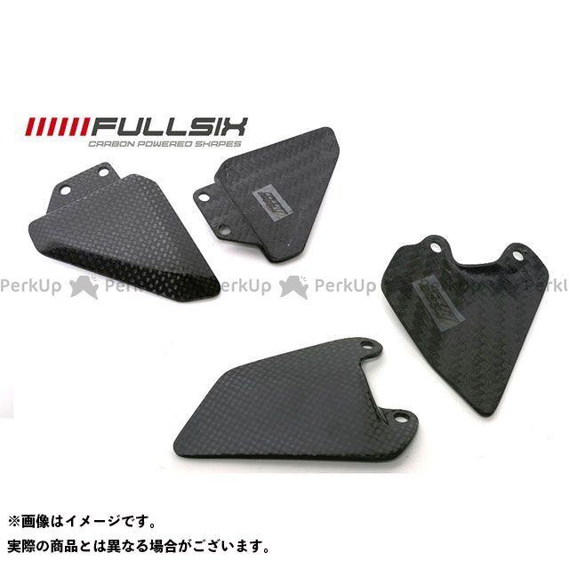 フルシックス 748/916他 ヒールガードセット コーティング:クリアコート カーボン繊維の種類:245Twill 綾織り FULLSIX