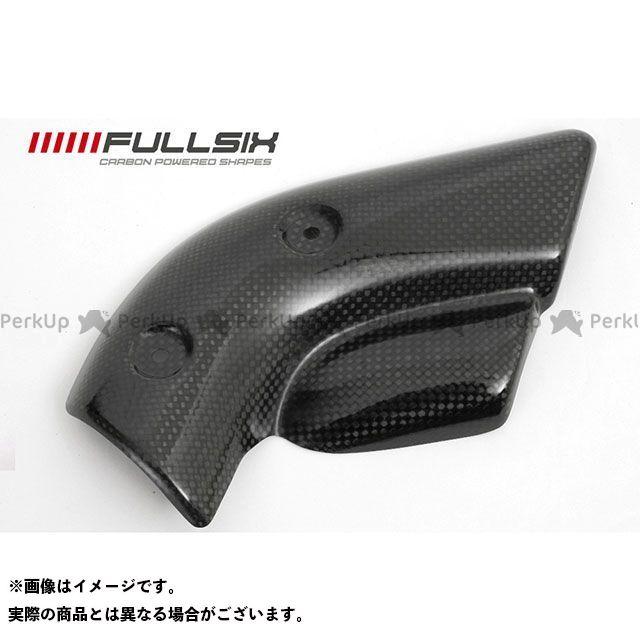 フルシックス 998 エキゾーストロテクター コーティング:クリアコート カーボン繊維の種類:245Twill 綾織り FULLSIX