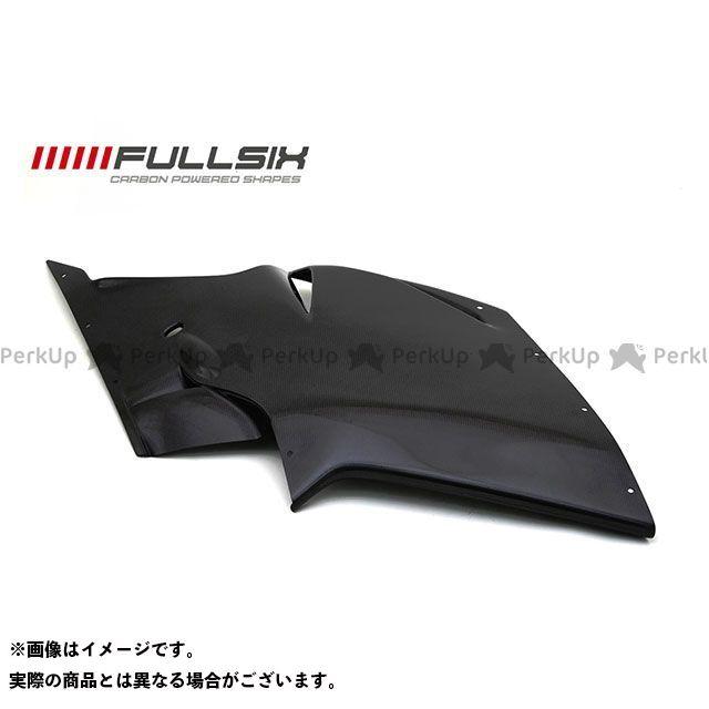 フルシックス F4 F4 タンクサイドパネル クリアコート 200Plain 平織り FULLSIX