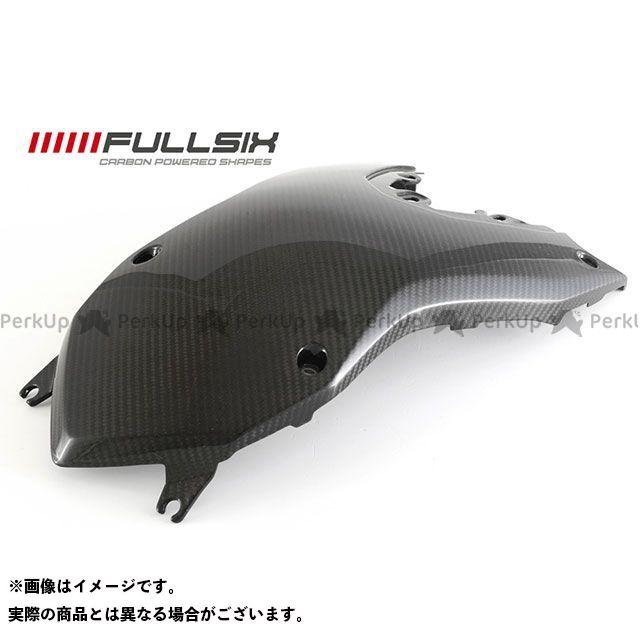 フルシックス F800GS F800GS タンクカバー トップ コーティング:クリアコート カーボン繊維の種類:245Twill 綾織り FULLSIX