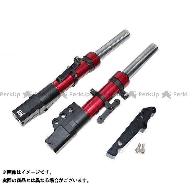 【エントリーで更にP5倍】KN企画 シグナスX SR スーパーフロントフォーク 260mm/STDキャリパー カラー:レッド ケイエヌキカク