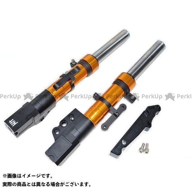 KN企画 シグナスX SR スーパーフロントフォーク 260mm/STDキャリパー ゴールド ケイエヌキカク