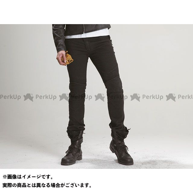 uglyBROS MOTOPANTS FEATHERBED(Men's) カラー:ブラック サイズ:36インチ アグリブロス