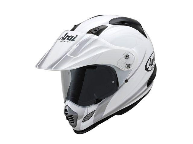 アライ ヘルメット Arai オフロードヘルメット TOUR CROSS 3 CONTRAST(ツアークロス3・コントラスト) ホワイト 54cm