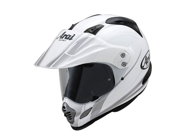 アライ ヘルメット Arai オフロードヘルメット TOUR CROSS 3 CONTRAST(ツアークロス3・コントラスト) ホワイト 59-60cm