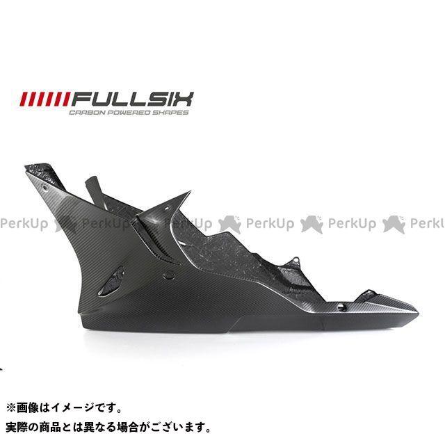 フルシックス S1000RR S1000RR アンダーカウル コーティング:クリアコート カーボン繊維の種類:200Plain 平織り FULLSIX