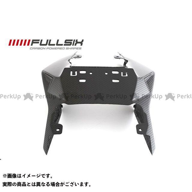フルシックス S1000R S1000RR シートカウル コーティング:クリアコート カーボン繊維の種類:245Twill 綾織り FULLSIX