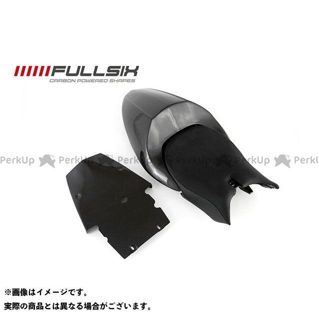 フルシックス モンスター1100 モンスター696 モンスター796 モンスター シートテール ホルダー無 コーティング:クリアコート カーボン繊維の種類:245Twill 綾織り FULLSIX