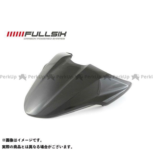 フルシックス モンスター1200 モンスター821 モンスター1200 シングルシートカバー コーティング:クリアコート カーボン繊維の種類:200Plain 平織り FULLSIX