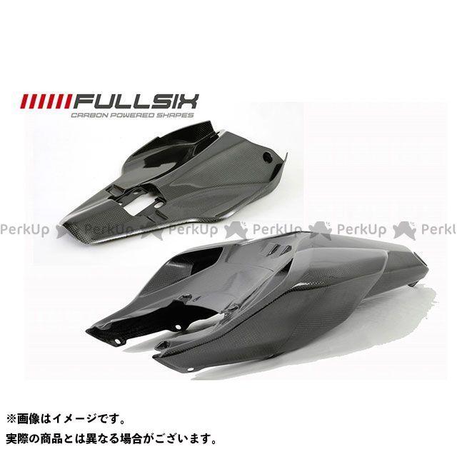 フルシックス 1098 1198 848 848 シートカウルセット(レース用) コーティング:マットコート カーボン繊維の種類:200Plain 平織り FULLSIX