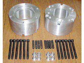 ミキピーデザイン ジャイロキャノピー ジャイロアップ ジャイロX ハブ・スポーク・シャフト 6穴ハブ用モンキーホイールアダプター 1セット(51mm-75mm) 65mm