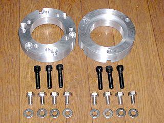 ミキピーデザイン ロードフォックス ハブ・スポーク・シャフト アルミ製ロードフォックス用 ホイールアダプター 1セット(50mm-75mm) 61mm