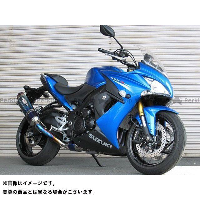 BEET GSX-S1000 GSX-S1000F NASSERT Evolution Type II フルエキゾーストマフラー サイレンサー:クリアチタン ビートジャパン