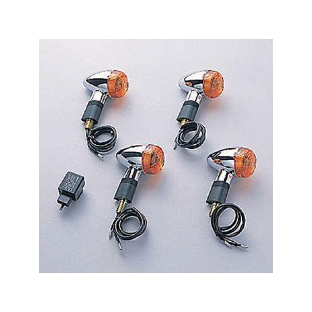 送料無料 ワイズギア SR400 ウインカー関連パーツ スモールウインカーセット