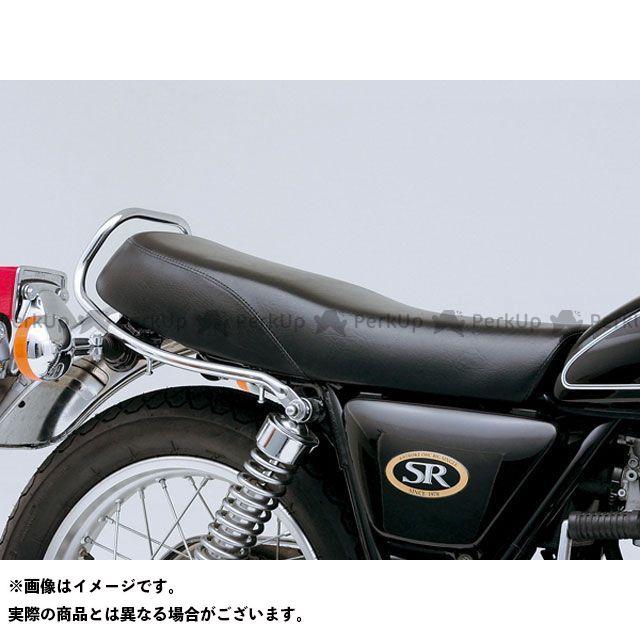 【エントリーで更にP5倍】デイトナ SR400 SR500 COZYシート ロングライトロー シートベース付き(ブラック) タイプ:プレーン DAYTONA
