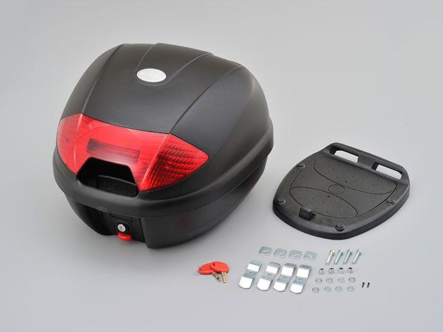 送料無料 デイトナ DAYTONA ツーリング用ボックス GIVI製 モノロックケース(デイトナオリジナル) K30N レッドレンズ