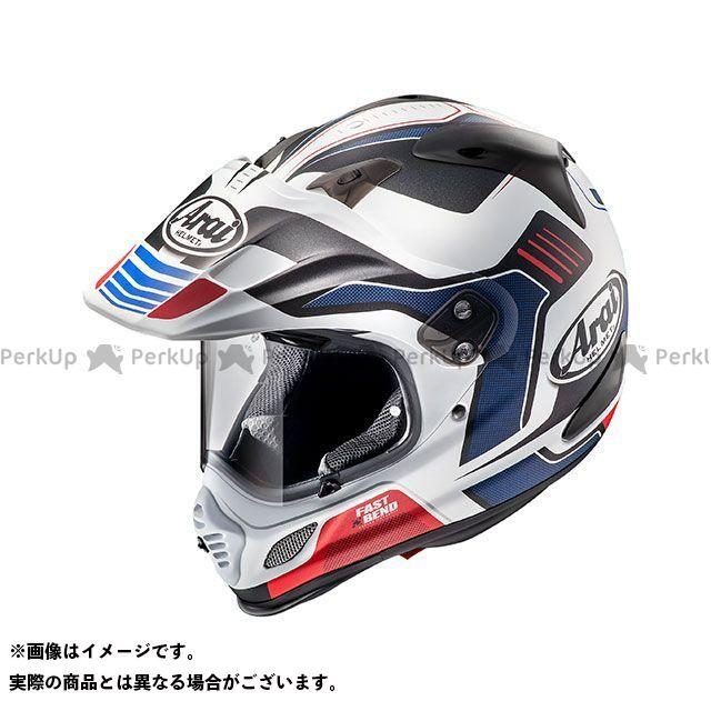 送料無料 アライ ヘルメット Arai オフロードヘルメット TOUR CROSS 3 VISION(ツアークロス3・ビジョン) レッド 61-62cm