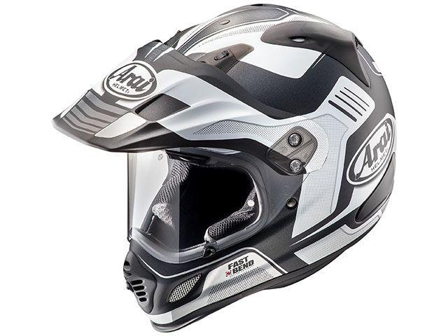 送料無料 アライ ヘルメット Arai オフロードヘルメット TOUR CROSS 3 VISION(ツアークロス3・ビジョン) ホワイト 54cm