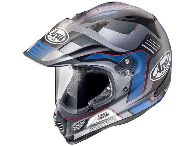 送料無料 アライ ヘルメット Arai オフロードヘルメット TOUR CROSS 3 VISION(ツアークロス3・ビジョン) グレー 57-58cm