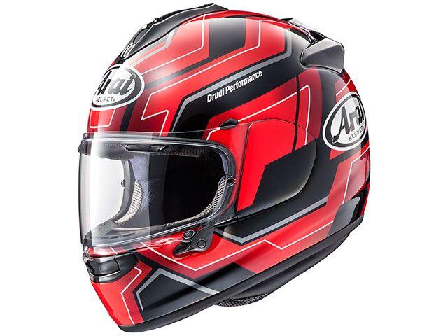 アライ ヘルメット Arai フルフェイスヘルメット VECTOR-X PLACE(ベクターX・プレイス) レッド 54cm