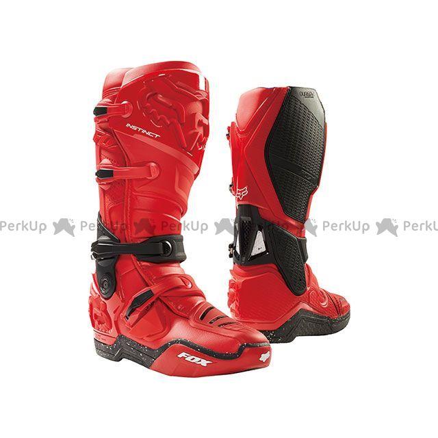 生まれのブランドで 送料無料 オフロードブーツ FOX フォックス Edition オフロードブーツ インスティンクト ブーツ Limited Edition インスティンクト レッド/ブラック 10/27.0cm, トウハクグン:d1f52a94 --- hortafacil.dominiotemporario.com