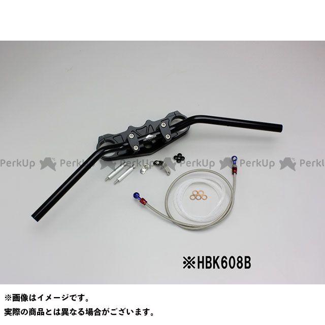 ハリケーン ZZR1400 バーハンドルキット カラー:ブラック タイプ:アールズブレーキホース HURRICANE