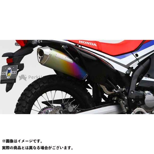 モリワキ CRF250L CRF250M CRF250ラリー MX スリップオンマフラー タイプ:ANO(アノダイズドチタン) MORIWAKI