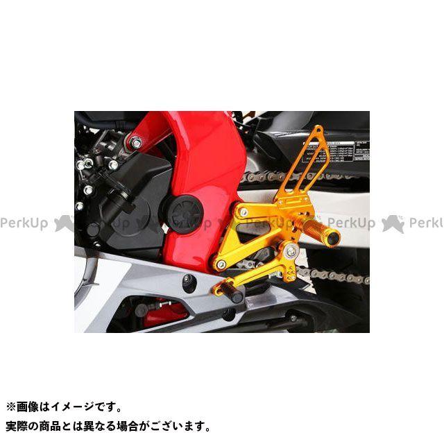 ベビーフェイス CBR250RR バックステップキット カラー:ゴールド BABYFACE