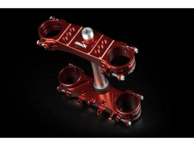 エックストリッグ 85 SX TC 85 17/14 TC 85 19/16 ハンドル周辺パーツ トリプルクランプKIT ROCS TECH オフセット=14(ブラウン) PHDS 28.6mm ハンドルバー用